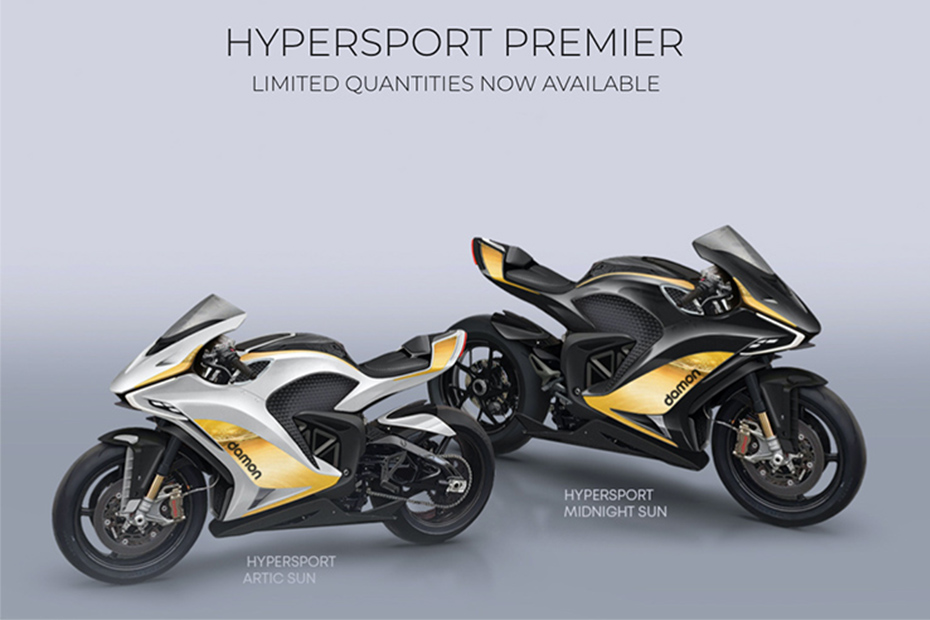 Damon Motorcycles เปิดตัว Hypersport สองเวอร์ชั่นใหม่