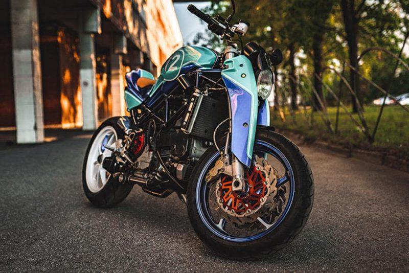 Ducati Monster สไตล์ Turdo The Strontium