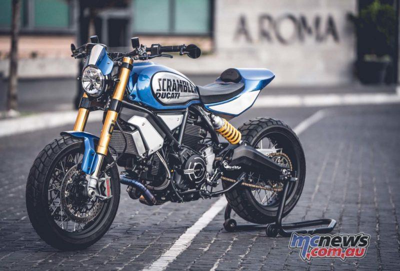 """Ducati Scrambler 1100 Special """"Bully"""" ผู้ชนะ Ducati Custom Rumble ปี 2020"""