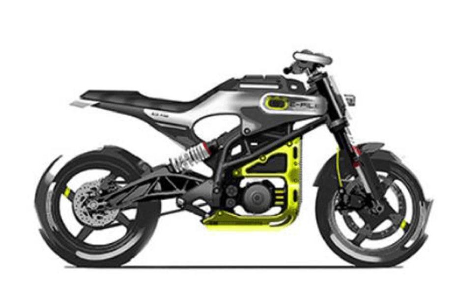 เผยภาพเรนเดอร์ Husqvarna E-Pilen จักรยานยนต์พลังงานไฟฟ้า