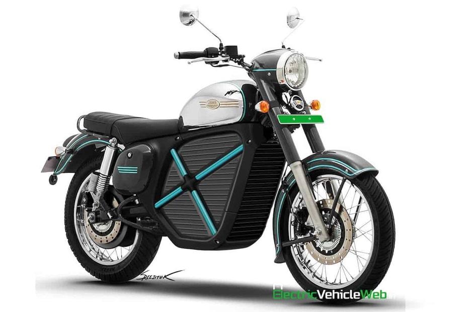 คาดการณ์ Jawa Electric จักรยานยนต์พลังงานไฟฟ้าอาจมีหน้าตาแบบนี้