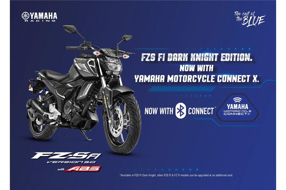 Yamaha India เปิดตัว FZS-FI v3 รุ่น Dark Knight พร้อมระบบเชื่อมต่อบลูทูธ