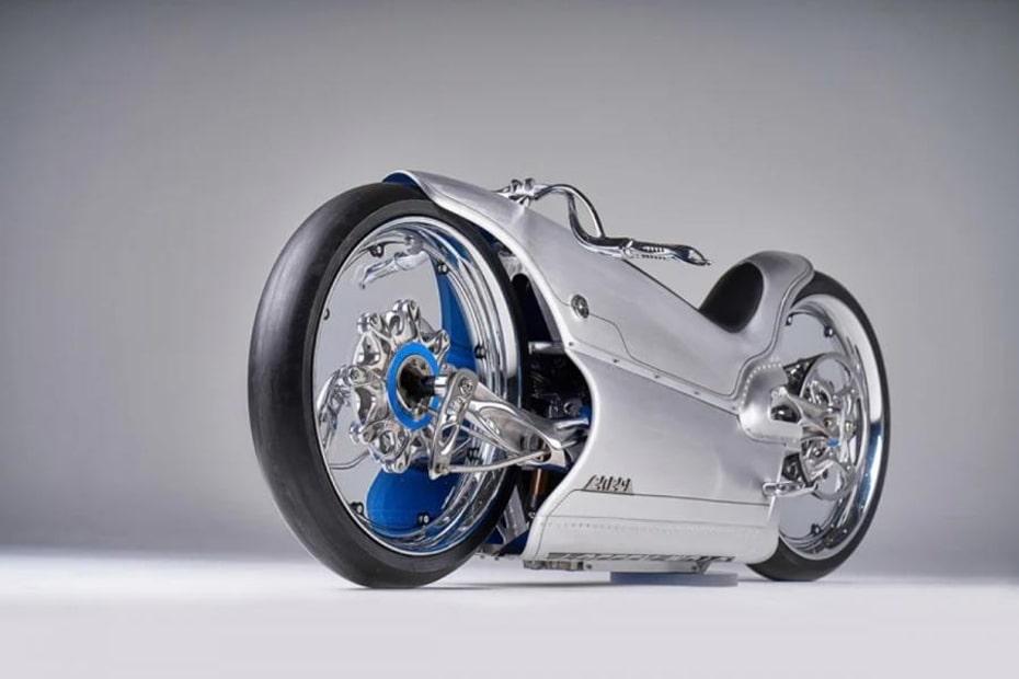 มอเตอร์ไซค์ไฟฟ้า Fuller Moto 2029 การออกแบบที่ยอดเยี่ยม