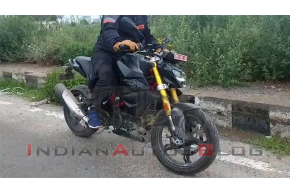 จักรยานยนต์ BMW G310R วิ่งทดสอบเตรียมเปิดตัวในอินเดียเร็วๆนี้