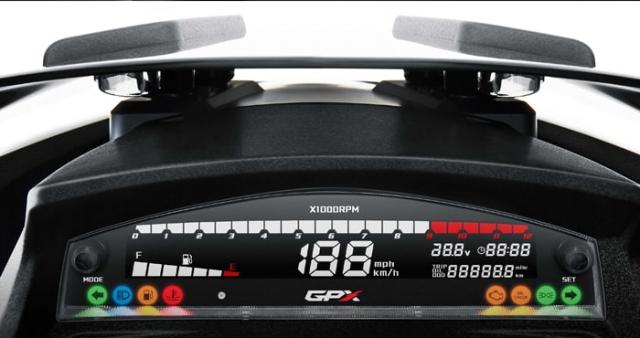 GPX Drone 2020 หน้าปัดเรือนไมล์