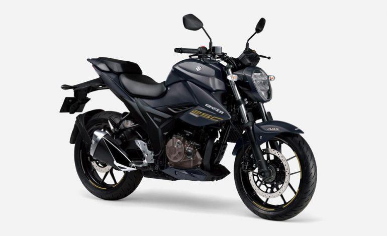 เตรียมเปิดตัวสีใหม่ Suzuki Gixer 250 2021 ในญี่ปุ่นเร็วๆนี้