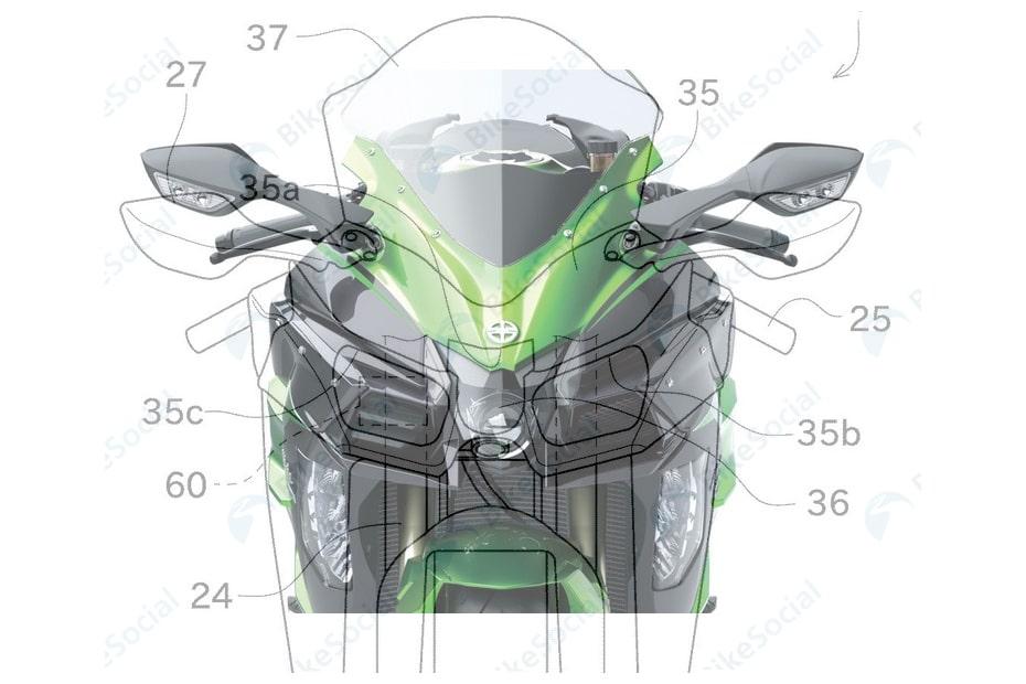 เผย Kawasaki Ninja H2 SX อาจได้รับระบบควบคุมความเร็วด้วยเรดาร์