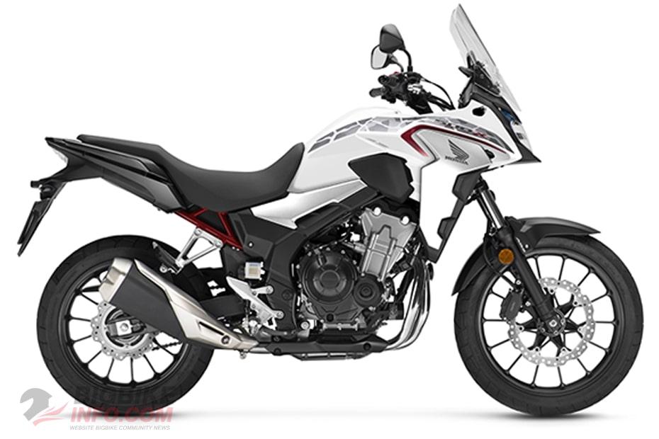 Honda CB 500X 2021 สีขาว