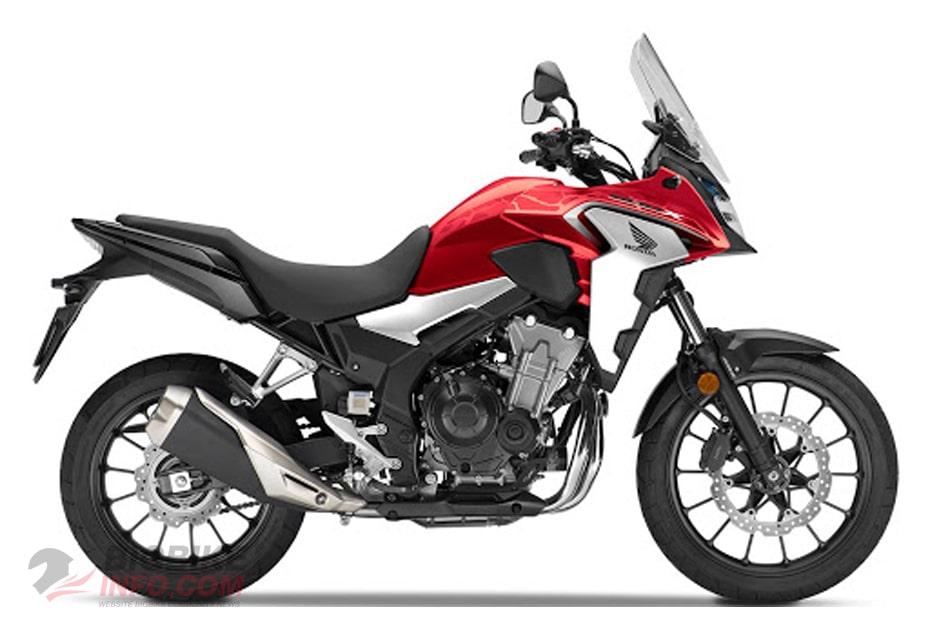 Honda CB 500X 2021 สีแดง