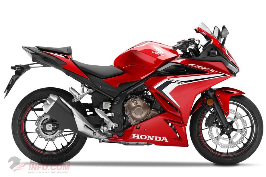 Honda CBR 500R 2020 สีแดง