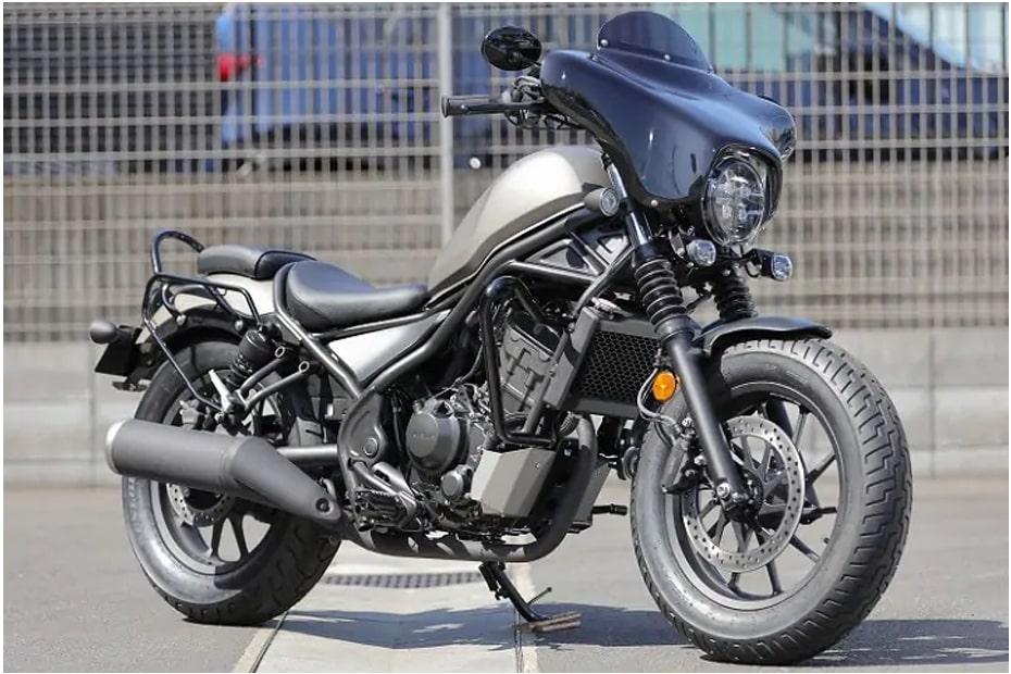 Honda Rebel สไตล์ Harley-Davidson