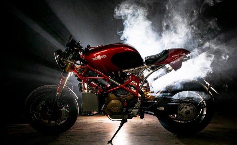 แปลงโฉม Ducati Hypermotard 1100 2009 สไตล์ Hyper Cafe ย้อนยุคแบบอิตาลี