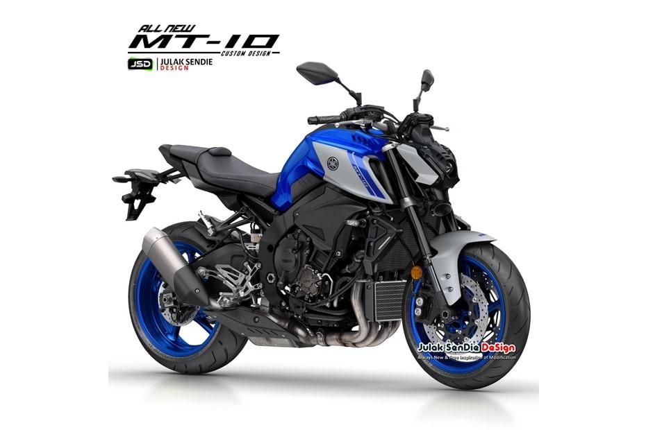 เผยภาพ CG รุ่น Yamaha MT-10 กับการออกแบบสไตล์ใหม่โดย JSD
