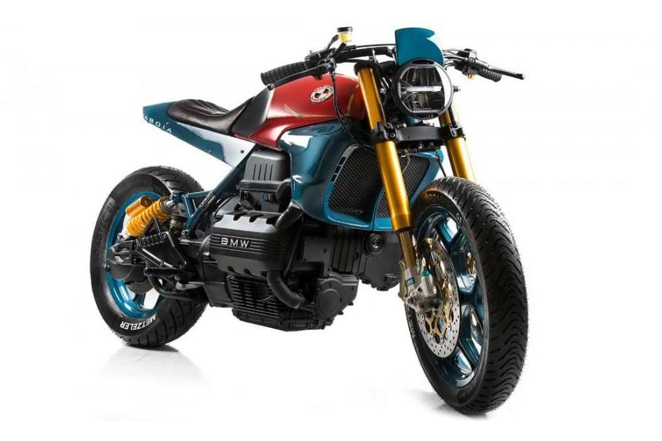แปลงโฉม BMW K75 โดย Matteucci Garage ได้แรงบันดาลใจจากงูพิเศษ