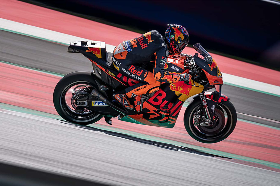 KTM MotoGP วิ่งทดสอบแบบส่วนตัว ที่สนาม Red Bull Ring