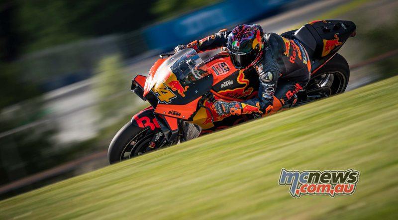 KTM MotoGP วิ่งทดสอบแบบส่วนตัว สองวันที่ Red Bull Ring