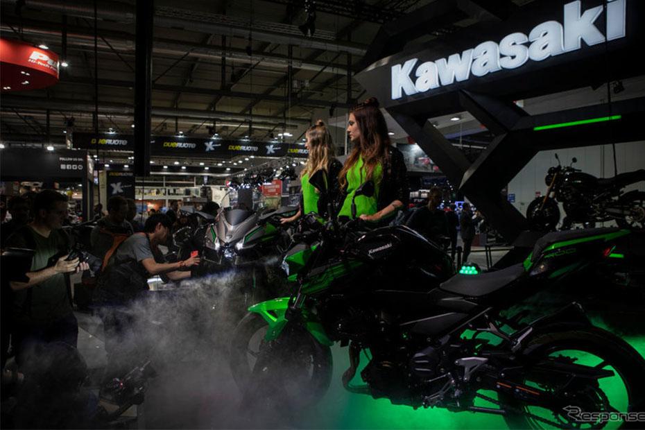 Kawasaki Heavy Industries รายได้ลดลง เพราะธุรกิจจักรยานยนต์ตกต่ำ