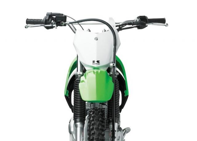 Kawasaki KLX140 ด้านหน้า