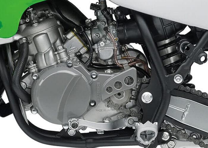 Kawasaki KX65 ช่วงเครื่องยนต์