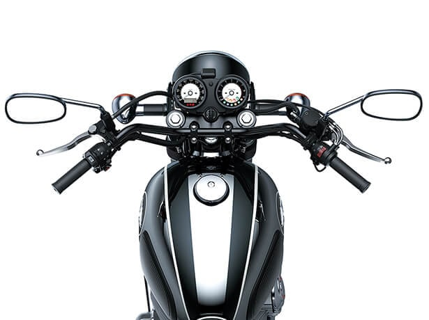 Kawasaki Meguro K3 2021 หน้าปัด
