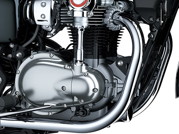Kawasaki Meguro K3 2021 เครื่องยนต์