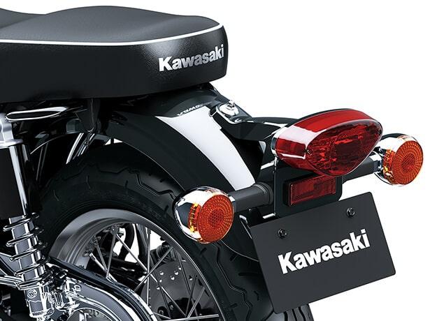 Kawasaki Meguro K3 2021 เบาะนั่ง