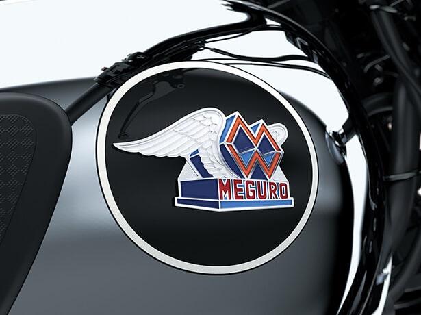 Kawasaki Meguro K3 2021 โลโก้ด้านข้าง