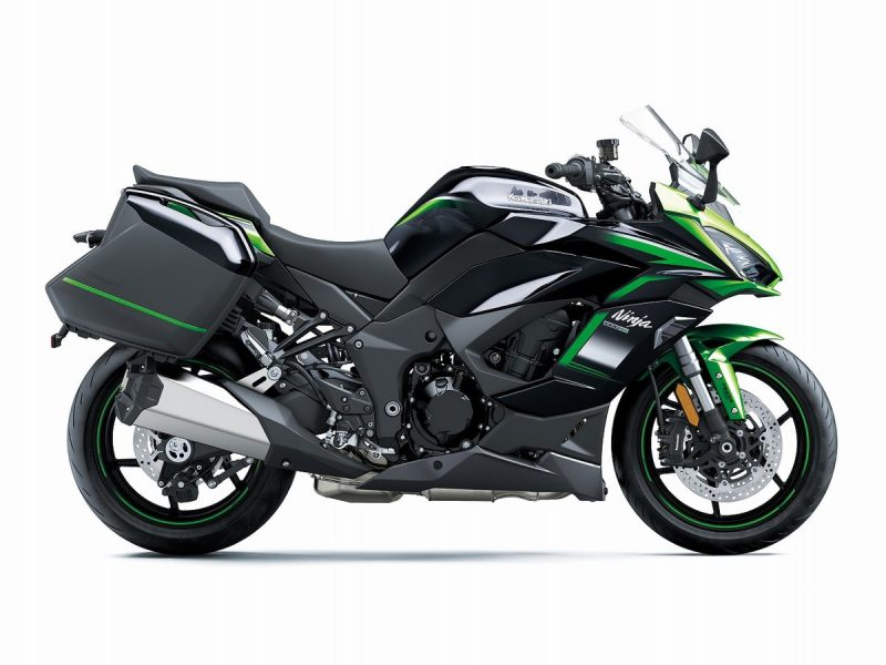 Kawasaki Ninja 1000 SX 2021 Metallic Carbon Grey-Metallic Diablo Black