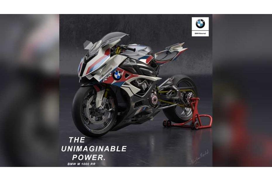 เผยภาพเรนเดอร์ BMW M1000RR จักรยานยนต์ซูเปอร์ชาร์จเจอร์ไฟฟ้า