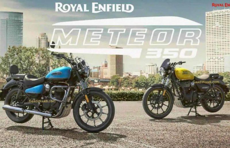 Meteor 350 สองสี
