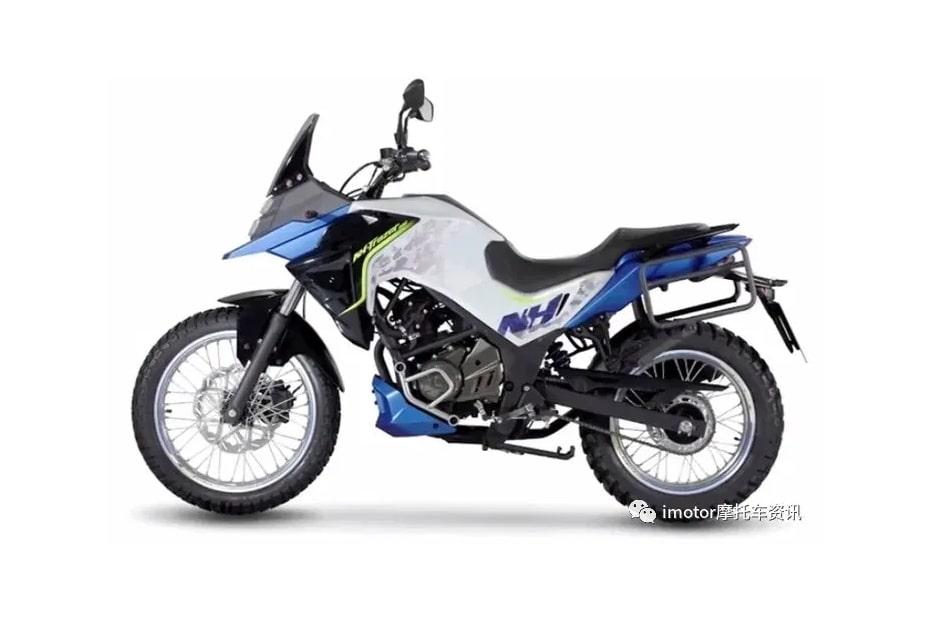 จักรยานยนต์ไต้หวัน SYM NH T200 2020 ที่มีการออกแบบคล้าย CB150R