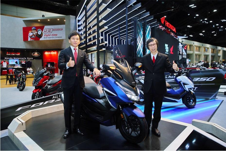 AP Honda เปิดตัว All New Forza 350 2020 ในงานบางกอกมอเตอร์โชว์