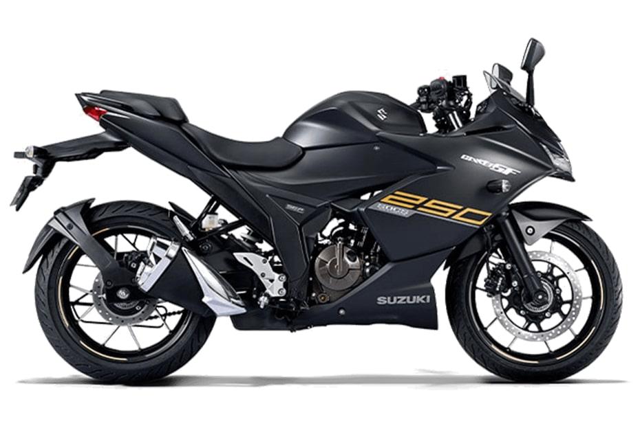 New Gixxer SF 250 2021 สีดำ