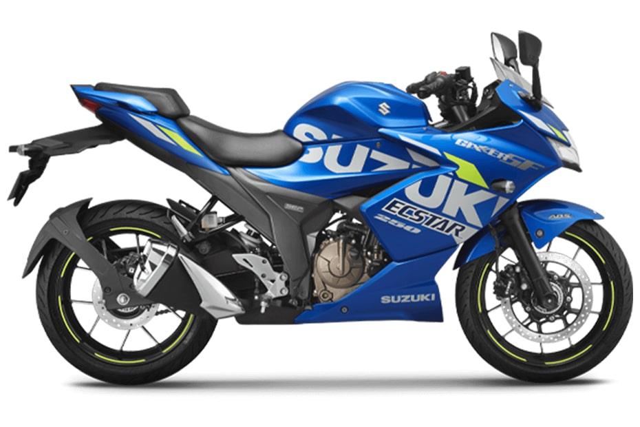 New Gixxer SF 250 2021 สีน้ำเงิน