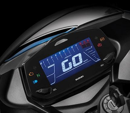New Suzuki Gixxer SF 250 2021 หน้าปัด