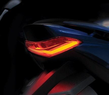 New Suzuki Gixxer SF 250 2021 ไฟท้าย