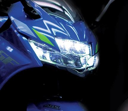 New Suzuki Gixxer SF 250 2021 ไฟหน้า