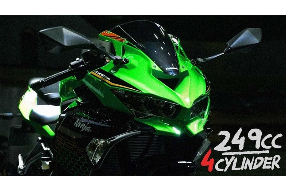 เผยประกาศประสิทธิภาพ Kawasaki Ninja ZX-25R ที่แน่นอนของจักรยานยนต์