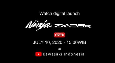 เตรียมเปิดตัว Kawasaki Ninja ZX-25R ใน Youtube