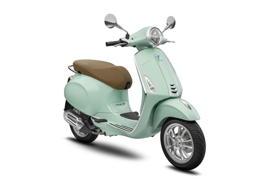 เปิดตัวสีใหม่ Vespa Primavera 125 และ 150 สี Relax Green สีเขียวมิ้นใหม่สุดน่ารัก