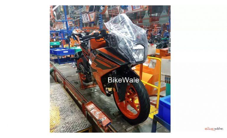 ใหม่ KTM RC 200 ถูกแอบถ่ายในอินเดียก่อนการเปิดตัวอย่างเป็นทางการ