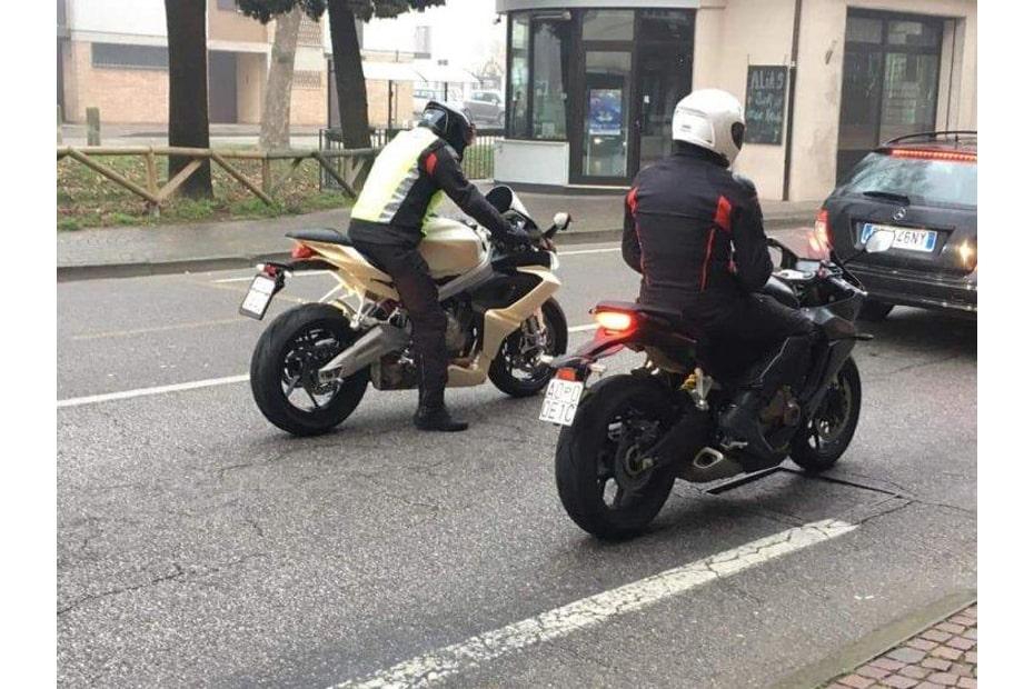 พบภาพ Aprilia RS660 จักรยานยนต์วิ่งทดสอบบนท้องถนน