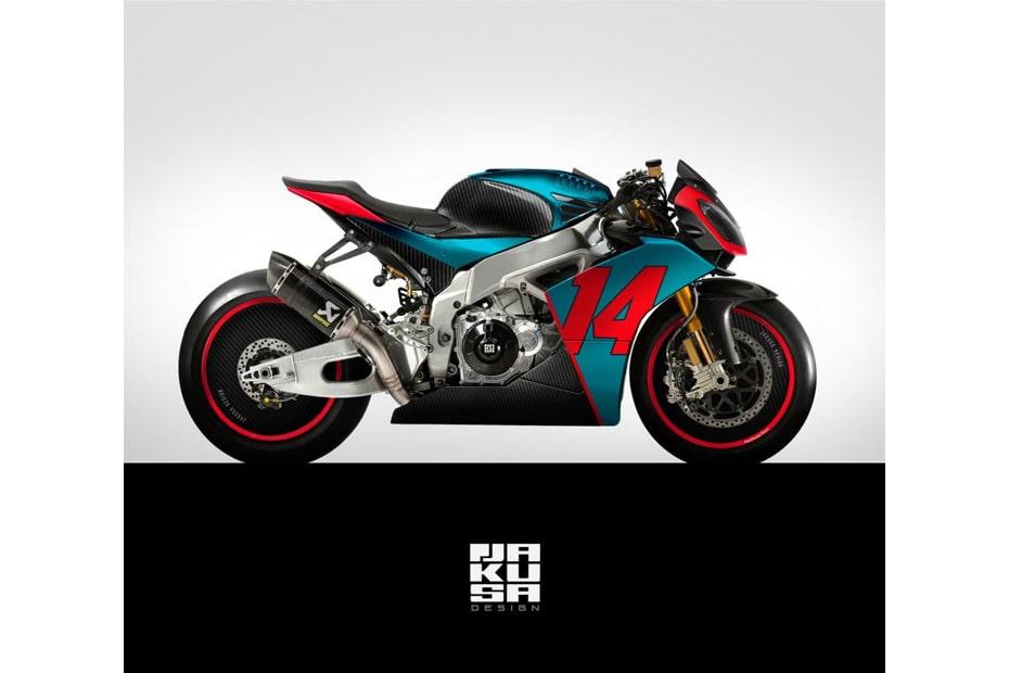 RSV4 JKS กราฟิก CG สปอร์ตไบค์แห่งอนาคตออกแบบโดย Jakusa Design