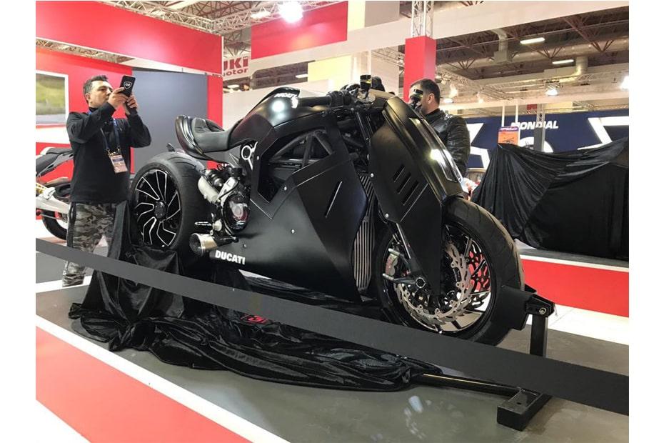 ปรับไฟหน้าใหม่ Ducati XDiavel ให้ดูทันสมัยโมเดิร์นขึ้น