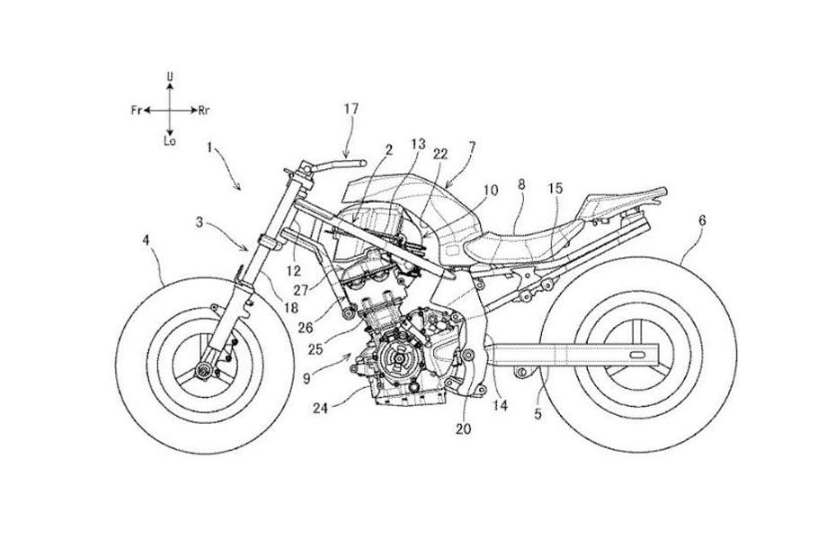 เผยสิทธิบัตร Suzuki SV650 ใหม่ จากประเทศญี่ปุ่น แสดงให้เห็นเฟรมและเครื่องยนต์ที่โดดเด่น