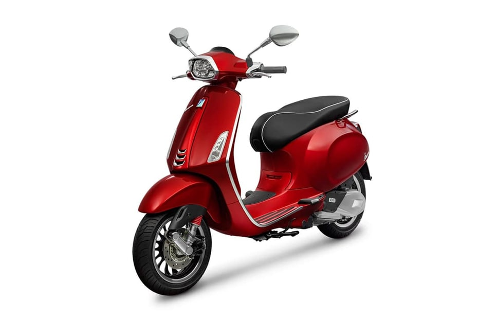 Sprint 150 2020 สี Red Scarlatto