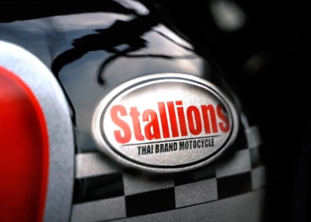 Stallion CT250 Max II โลโก้ประจำรุ่น