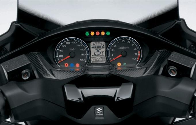 Suzuki Burgman 400 ABS 2020 หน้าปัดเรือนไมล์