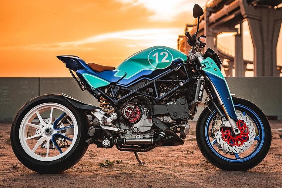 """แปลงโฉม Ducati Monster Turdo """"The Strontium"""" โดย Balamutti"""