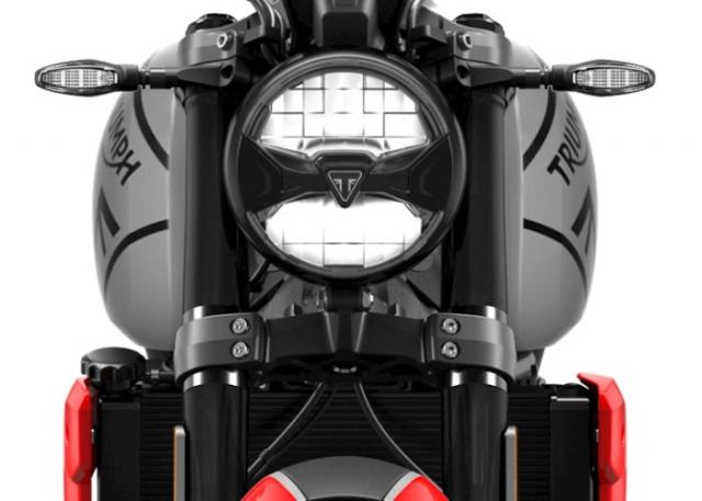 Triumph Trident 660 ปี 2021 ไฟหน้า